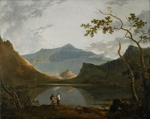 Richard Wilson - Snowdon from Llyn Nantlle - Google Art Project