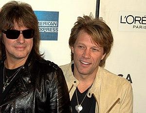 Richie Sambora and Jon Bon Jovi at 2009 Tribeca