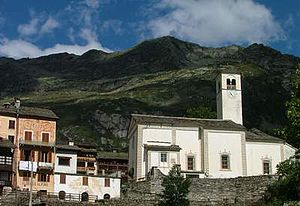 Rima San Giuseppe - The parish church.