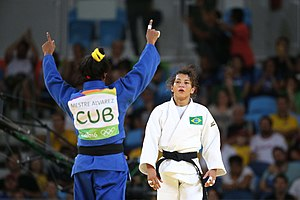 Judo at the 2016 Summer Olympics – Women's 48 kg - Image: Rio 2016 jud 28520310270 o