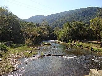 Alto Ribeira Tourist State Park - Image: Rio Betari 2