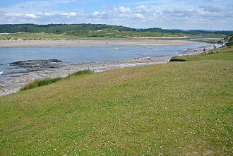 River Ogmore - Mouth of the River Ogmore.