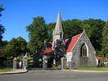 Riverside Cemetery Waterbury Chapel and Gate.png