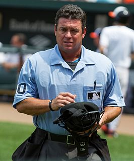 Rob Drake baseball umpire from the United States