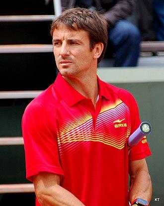 Tommy Robredo - Robredo at 2013 Roland Garros