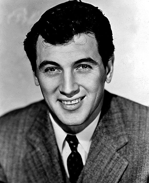Rock Hudson - portrait