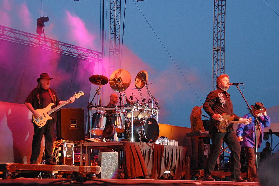 Rock band .38 Special in 2010