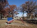 Rocket in Levy Lowry Memorial Park, Princeton, Missouri.jpg