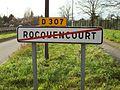 Rocquencourt 78 Panneau de sortie.JPG
