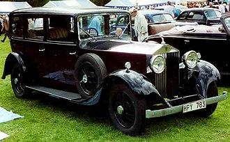 Rolls-Royce 20/25 - Image: Rolls Royce 1933