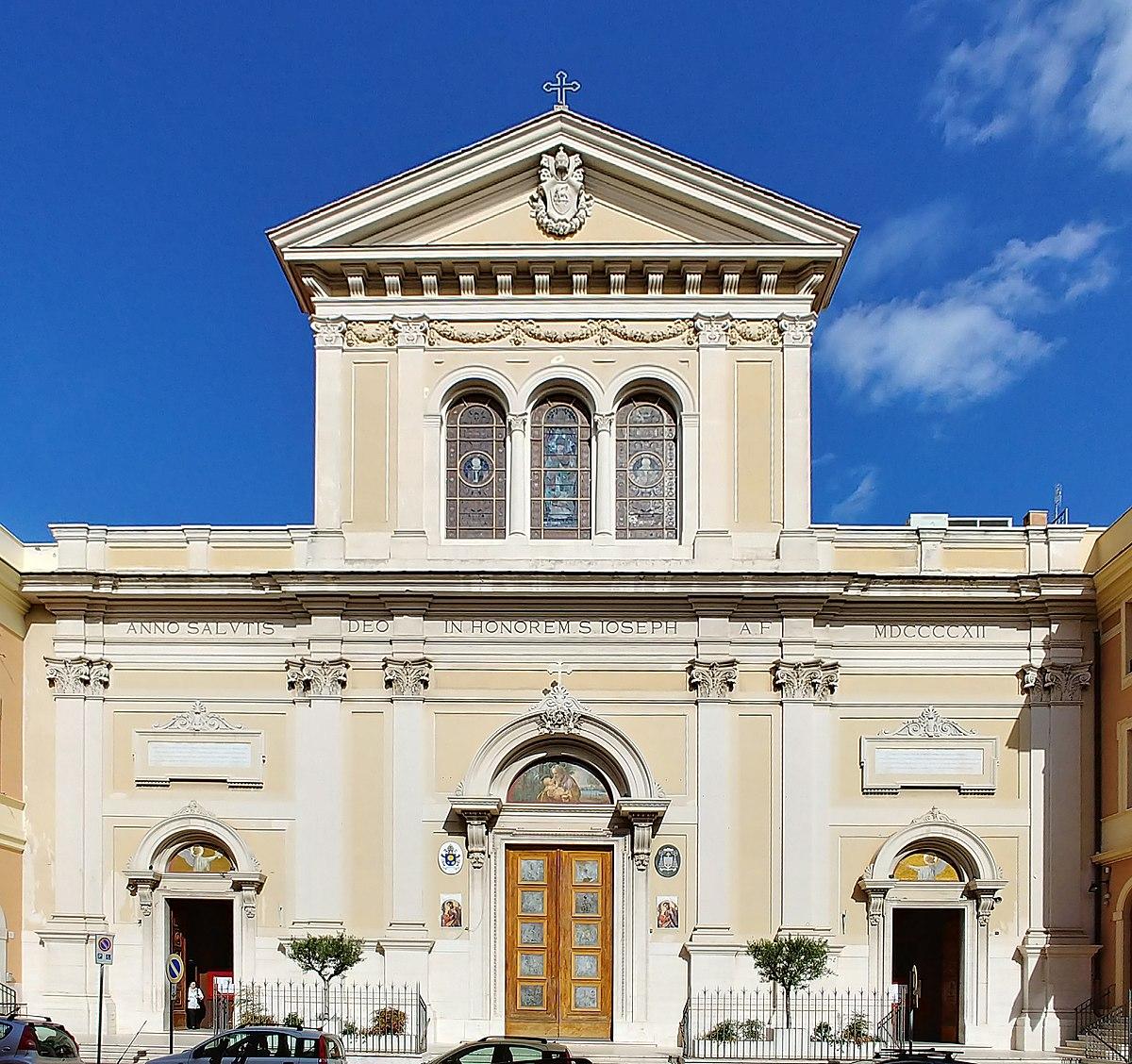 Basilica di san giuseppe al trionfale wikipedia for Di giuseppe arredamenti roma