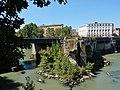 Roma - Ponte Palatino dal Lungotevere dei Pierleoni.jpg