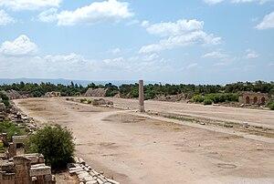 Roman Hippodrome in Tyre, Lebanon