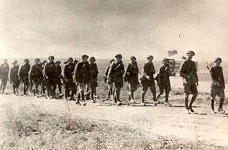 Vânători de munte - Image: Romanian soldiers on eastern front 1941