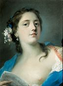 Rosalba Carriera - The Singer Faustina Bordoni (1697-1781) with a Musical Score - Google Art Project.jpg
