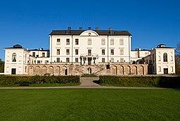 Rosersbergs slot, Fra søsiden