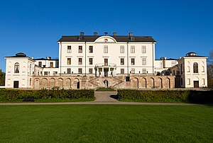 Rosersberg Palace - The Palace from south