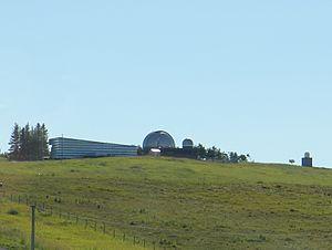 Rothney Astrophysical Observatory - Image: Rothney Astrophysical Observatory from Cowboy Trail