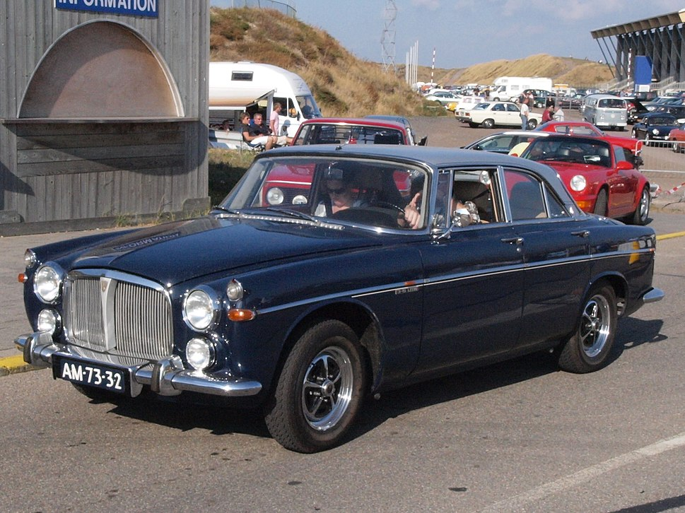 Rover 3.5 Litre Coupe dutch licence registration AM-73-32 pic2