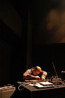 Keith Rowe British artist