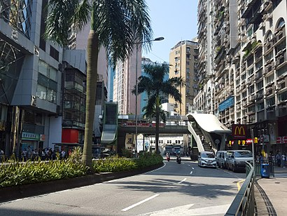 How to get to 水坑尾街 1 with public transit - About the place