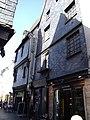 Rue du change, n° 2, n°4, maisons 15èm siècle à l'essentage en ardoise, VIEUX TOURS.jpg