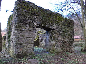 Ruine Hüttelngesäß 2013