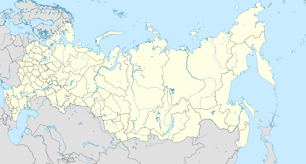 List of World Heritage Sites in Russia is located in Russia