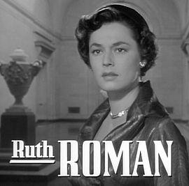 affiche Ruth Roman