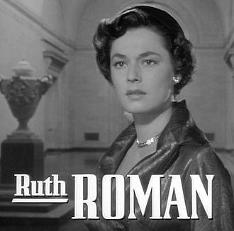 Ruth Roman - from the trailer for the film Strangers on a Train (1951).
