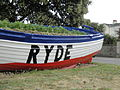 Ryde Esplanade boat flower bed in June 2012.JPG