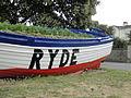Ryde Esplanade boat flower bed in June 2012.JPG