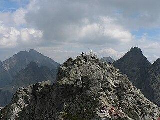 Rysy Mountain in the High Tatras