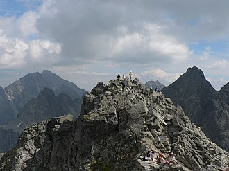 Rysy - Main summit