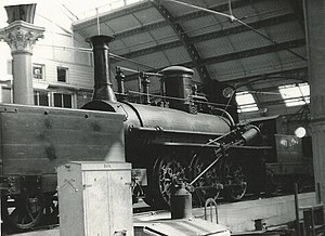 0-6-0 - Derwent with a tender at each end