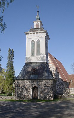Sääksmäki church bell tower 1 AB.jpg