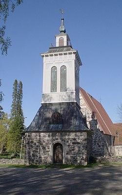 Sääksmäki Church in Valkeakoski