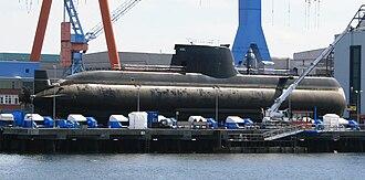 Type 214 submarine - Image: S 120 Papanikolis 1