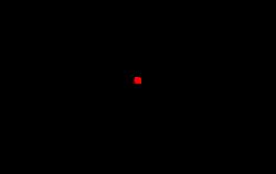 Location in South Dakota
