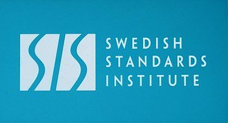 Swedish Standards Institute - SIS, sign in Stockholm
