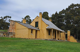 William Smith O'Brien - O'Brien's Cottage in Port Arthur, Tasmania.