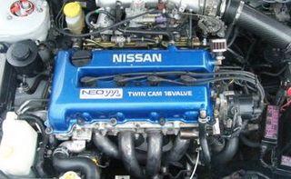 Nissan SR engine Motor vehicle engine