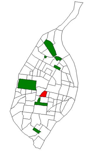 Botanical Heights, St. Louis - Image: STL Neighborhood Map 28