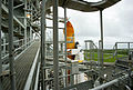 STS-135 viewed from metal walkway.jpg