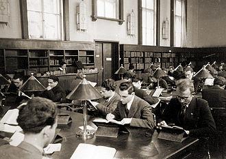 Sofia University - University students in the 1930s