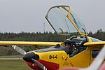 Saab Safari Yellow Sparrows Turku Airshow 2015 07.JPG