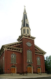 Sacred Heart Roman Catholic Church (Detroit, Michigan) United States historic place