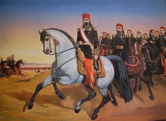 Muhammad III as-Sadiq - Portrait of as-Sadiq from 1864