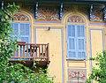 Saint-Martin-Vésubie - Décoration de façades de villas -2.JPG