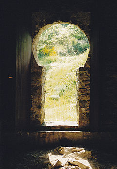 serrure de portail fer
